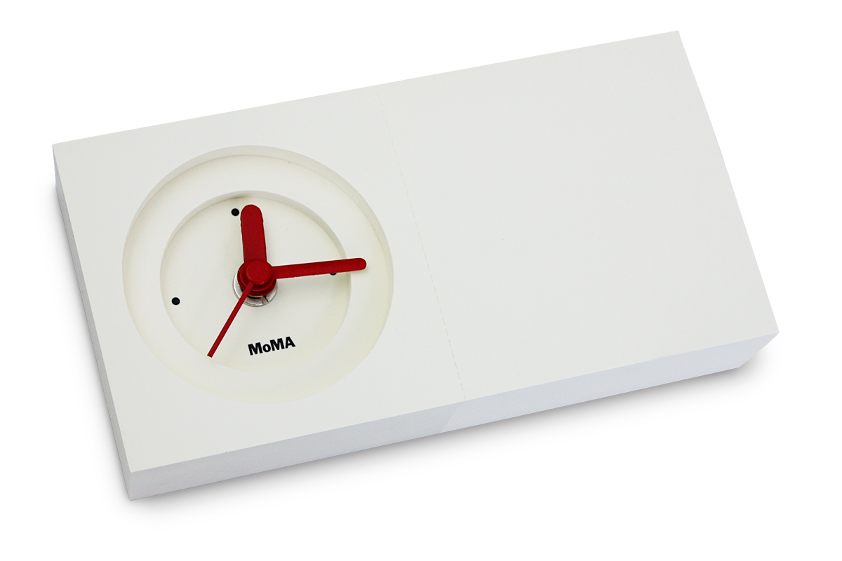 Creative Product Lifestyle - Moma 's Notepad Clock - 1