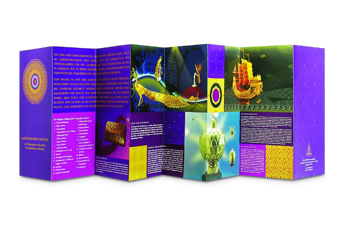 Extraordinary - Brochure for Royal Folk Arts                 and Crafts (Chitralada Palace) - 2