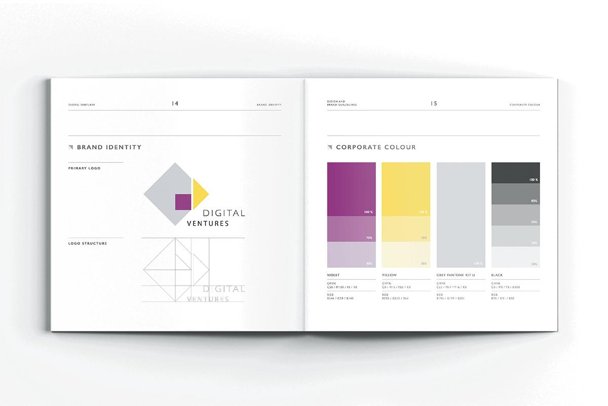 Corporate Identity - Digital Ventures - 7