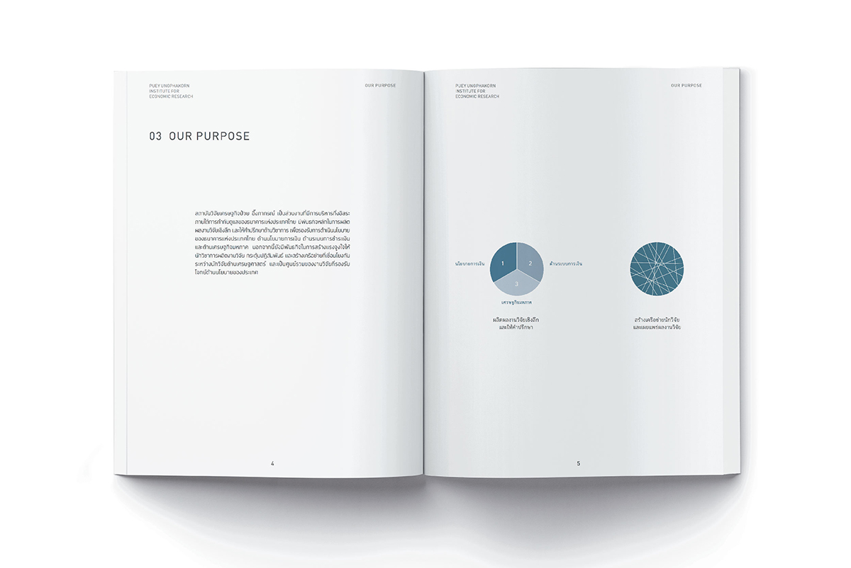 Corporate Identity - Puey Ungphakorn Institute for Economic Research  - 3