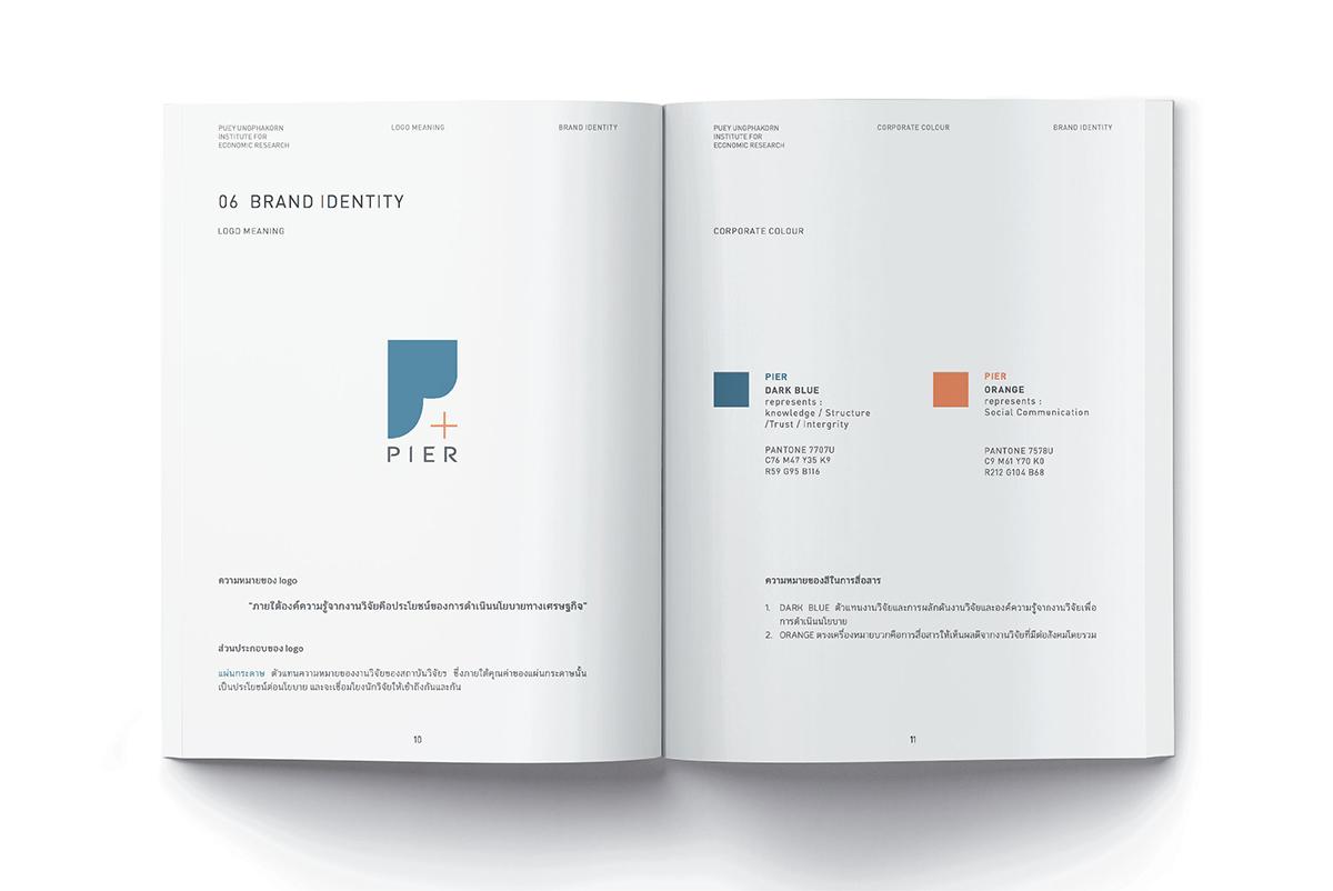 Corporate Identity - Puey Ungphakorn Institute for Economic Research  - 4