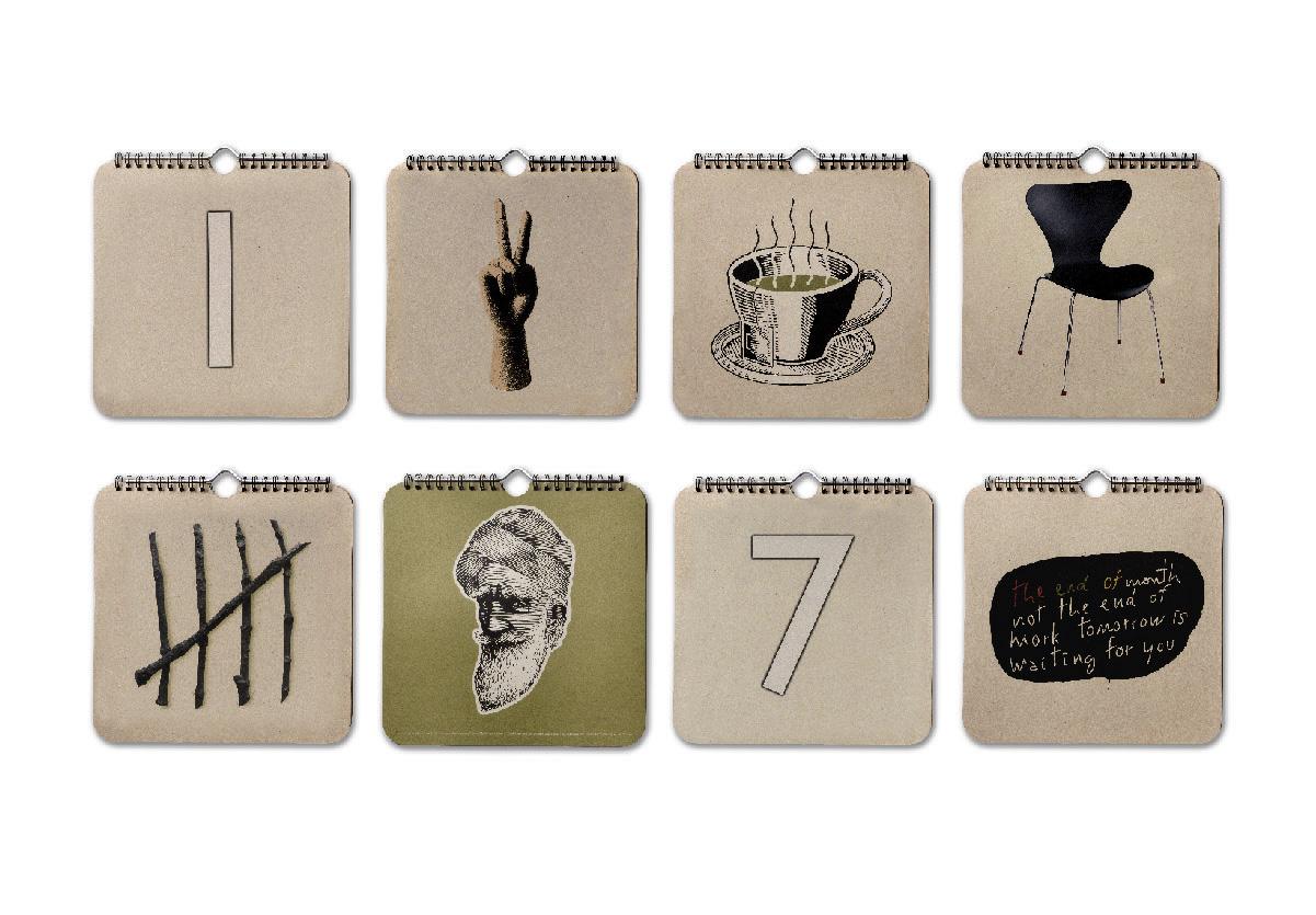 Integrated Media - Propaganda : Thinking Calendar - 2
