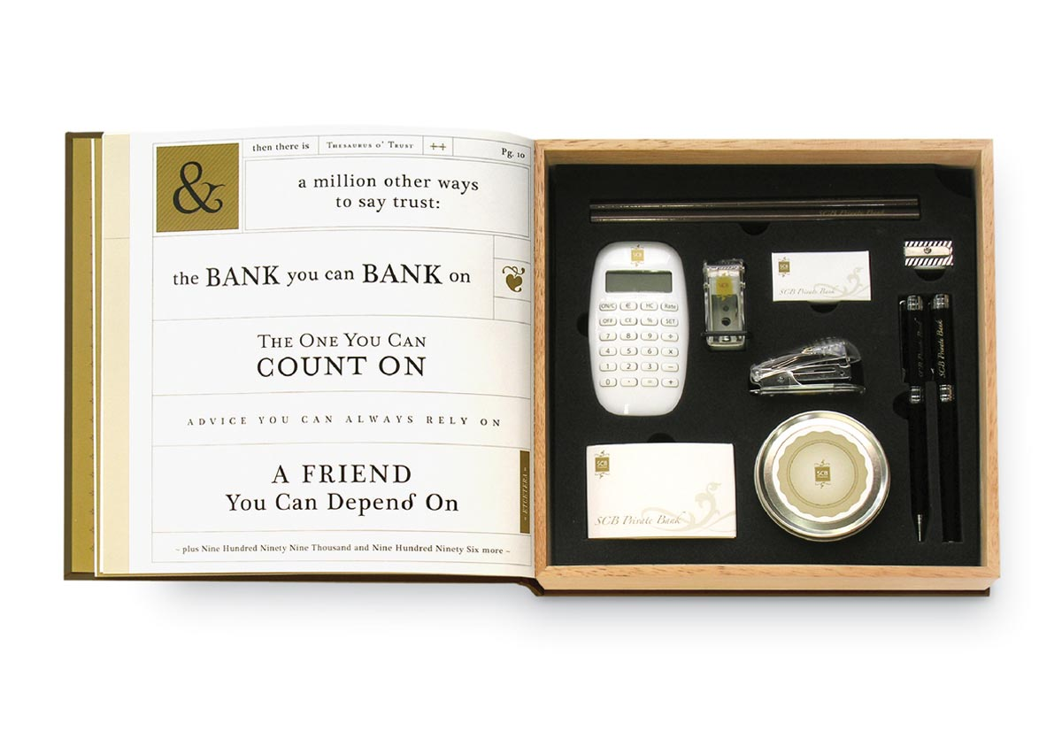 Corporate Premium Design - SCB Private Banking's New Year Gift - 2